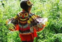 Into the woods / Autumn woodland characters for children Woodland theme clothes and accessories for children, girls boys and babies