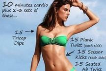 Bikini Body / Get ready to bare it all in a Bikini with the help of these health and fitness  tips.  / by KW Swimwear