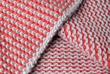 Knit, How to and Patterns / I crocheted for years before I learned to knit, I love the way it looks and wish I was could make some of these amazing items.  completely inspiring.