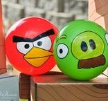 Angry Birds Party / all foods, crafts and decorations for the perfect angry bird themed party