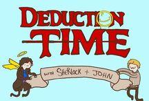 Sherlock / Sherlock, Benedict Cumberbatch, Martin Freeman