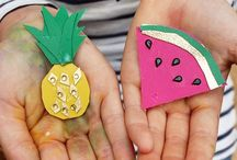 Creative DIY craft projects for kids / Creative ideas for children to craft paint make and sew