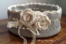 Crochet: Baskets, Containers, Organizers / by Teresa Penny