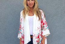 Coats, waistcoat & Kimono's
