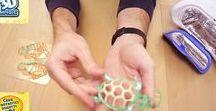 LABORATORIO 3D / Trasformare in realtà i sogni dei bambini da oggi è possibile grazie a LABORATORIO 3D Grandi Giochi. Con il LABORATORIO 3D è possibile creare in pochi minuti, grazie all'ausilio degli appositi gel colorati inclusi nella confezione e realizzati con materiali sicuri e certificati, fantastici modellini. http://laboratorio3d.info/