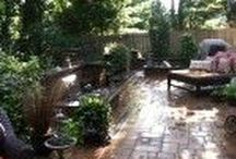 Backyard & Patio Sanctuary Ideas / Barry Bros. offers a variety of masonry services, design to installation. Our skilled crews meet customer's needs and an owner is always on site. Masonry services includes landscape/ masonry drawings, for, poolscapes, patios, driveways, walkways, outdoor kitchens, outdoor living areas, fire-pits, fireplaces, retaining walls, stoops and pillars. Barry Bros focus on the core of the project & the little details go a long way. Each project is distinctive from the rest!