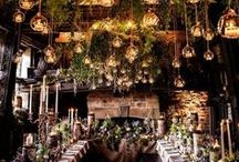 Wedding Theme: Enchanted Forest / Wedding theme ideas. The enchanted forest is a popular winter wedding theme. Magical wedding inspiration.