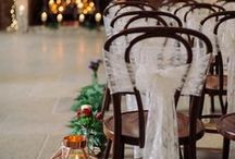 Chairs for Winter Wedding