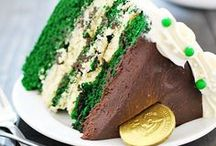 St. Patty's Day Fun! / St. Patrick's Day Food, Crafts and more.  Green, rainbows, and Gold!