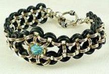 BRACELETS, Chain & MISC. Bracelets / by Sharon Crabtree