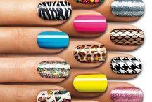 Nails, nails, nails / I love pretty nails.