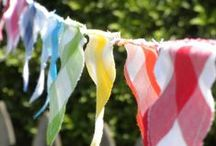 DIY Bunting & DIY Banners / Say it with a DIY banner! Wish someone a happy birthday with a DIY birthday banner or make fabric bunting to spruce up you living room. Learn how to make a pennant banner and so much more. / by AllFreeHolidayCrafts