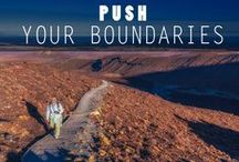 Pushing Boundaries / What's the craziest thing you've ever done? #pushyourself