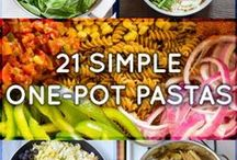 Use your Noodle / Pasta and noodle recipes