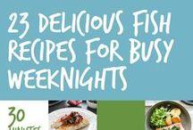 Fruits of the Sea / Seafood recipes