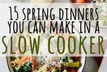 Slow & Low / Crockpot recipes