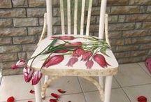 Painted Chairs / by Debbie Norris