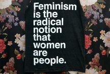 G R R R L / Feminism  / by Michele