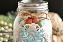 Gifts in a Jar / gifts in a jar, mason jar gift ideas, jar gifts, cute mason jar ideas, gifts in jars, how to make candles in mason jars, gifts in a mason jar, things to make with mason jars, recipes in a jar, mason jar meals, mason jar recipes, baking in mason jars, mason jar recipe gifts / by AllFreeHolidayCrafts