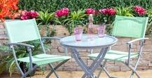 Traditional Garden Design / Bring the classic look of a British garden to your outdoor living space with these tips on design, floral features and great furniture products.
