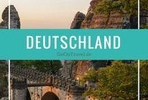 Deutschland Reisen | Travel Germany / Deutschland Reisen, Reisetipps Deutschland, Tipps Deutschland, Sehenswürdigkeiten Deutschland, Travel Germany, Travel Germany Tips