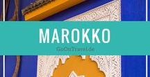 Marokko Reise / Reisetipps für Marokko: Marrakesch, Wasserfälle Marokko, Urlaub in Marokko
