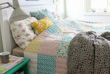 Bedroom Decor / Bed linens, curtains, pillows, artwork, rugs, furniture and more.