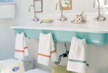 Bathrooms... / Vanities, mirrors, closets, towels, shower curtains, rugs, and so much more....