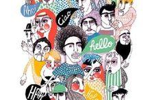 Kunst & Illustration / Art & Illustrations / Mach Deine Wände zu einer Galerie. Wir pinnen für Dich die schönsten Illustrationen, Fotodrucke und Poster.