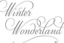 W.I.N.T.E.R.  Wonder-land / by Carol Hardin
