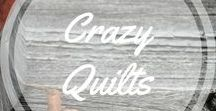 Crazy Quilts / Crazy quilts all over http://www.aroundthefirepit.com