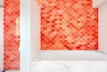 Bathroom Inspiration / Bathroom Inspiration from Mercury Mosaics / by Mercury Mosaics