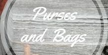 Purses and Bags / Beautiful purses and bags, to make, to own.  http://www.aroundthefirepit.com
