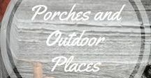 Porches and Outdoor Places / Loving the outdoors.. http://www.aroundthefirepit.com