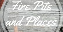 Fire Pits and Fire Places / Ideas to build outdoors fire places. http://www.aroundthefirepit.com