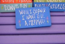 Signs I want to make