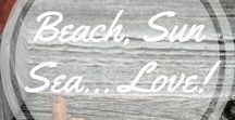 Beach, Sun, Sea... Love! / Love the beach life. http://www.aroundthefirepit.com