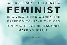 Feminism / by Kaycee Bassett