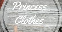 Princes Clothes / Clothes designed after (mostly) Disney characters http://www.aroundthefirepit.com
