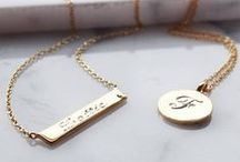 Personalise it / Its hard to find just the right gift for that special person - In the collection we know you will find something perfect.  www.tzefira.com / by Tzefira London