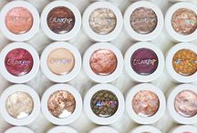Eyeshadow Swatches & Products