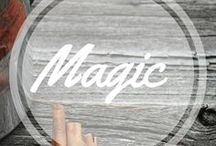 Magic / Believe in magic, like a child. http://www.aroundthefirepit.com