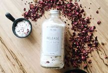 Bath Salts + Scrubs + Foot Soaks / A Collection of Bath Products & D.I.Y.