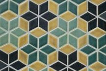 New Tile Shapes/Ideas / New Tile Shape Inspiration from Mercury Mosaics / by Mercury Mosaics