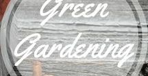 Green Gardening / Tips and tricks for green gardening http://www.aroundthefirepit.com