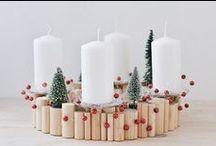 Weihnachtsdeko / christmas decoration, essentials / Erst durch Weihnachtsschmuck wird das Zuhause so richtig gemütlich und die Vorfreude auf Heiligabend noch größer. Wir pinnen für Dich die schönsten Dekoideen für die Weihnachtszeit.