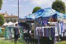 Passeggiando tra le fiere / Luoghi e posti da sogno e mercati in strada con Neverland Artgallery
