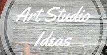 Art Studio Ideas / Some of my dreams and wishes for my future art studio