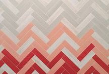 Gradations / Gradation and Ombre in tile! Inspiration from Mercury Mosaics