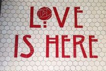 Mercury Mosaics Tile Type / Custom Tile lettering and Tile Typography / by Mercury Mosaics
